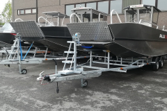 W14 ready on trailer